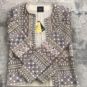 Jackets & Blazers - BNWT Australian sports girl embroidered jacket sz6